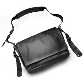 Brooks Barbican Shoulder Bag total black